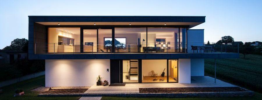 Projekte - Einfamilienhaus Raum Stuttgart | Q_bus Architektur ...